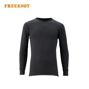 フリーノット レイヤーテックアンダーシャツ (長袖) シープバック超厚手 Y1619 FREEKNOT|backlash