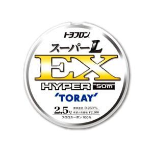 東レインターナショナル トヨフロン スーパーL EX ハイパー ◆サイズ:1号 ◆長さ:50m巻 ◆...
