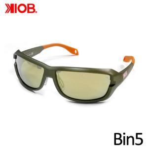 ケナイオビー ビンゴ ガンメタルフレーム ミラーレンズ 偏光サングラス KIOB Bin5|backlash