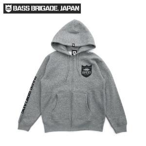 バスブリゲード BRGDクラシックロゴジップフーディ BASS BRIGADE 【CLZD101】 |backlash