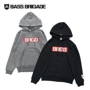 バスブリゲード ボックスBRGDロゴフーディ 【BXHD101】BASS BRIGADE |backlash