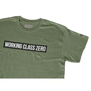 ワーキングクラスゼロ スタンダードティーシャツ WORKINGCLASSZERO|backlash
