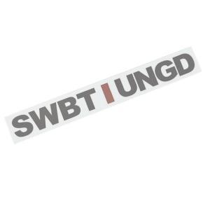 スイムベイトアンダーグラウンド SUアンスタッグロゴトランスファーステッカー SWIMBAIT UN...
