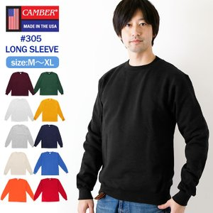 camber Tシャツ 通販 キャンバー ロンT 305 ロングスリーブ 長袖 #305 MAX-W...