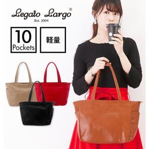 レガートラルゴ トートバッグ 10ポケット 通販 Legato Largo 10ポケットトート レデ...