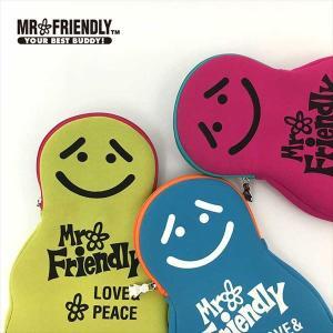 ミスターフレンドリー Mr.Friendly  サコッシュ 通販 ミスターフレンドリーカフェ ダイバー素材 サコッシュ ショルダー ポーチ かわいい おしゃれ|BACKYARD FAMILY