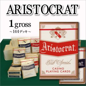 ARISCRATS (アリストクラット) レッド72 / ブルー72 まとめ買い 1グロス −トランプ|badenbaden