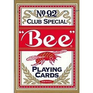 Bee ビー ポーカーサイズ No.92 Club Special レッド ・ ブルー -トランプ badenbaden