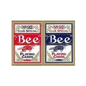 トランプ カジノ ビー Bee ビー ポーカーサイズ レッド / ブルー まとめ買い 1グロス badenbaden 03