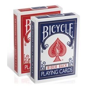 トランプ マジック BICYCLE ライダーバック ポーカーサイズ  1ダース|badenbaden|03