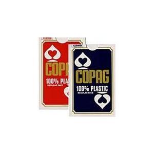 COPAG コパッグ ブリッジサイズ  レッド ・ ブルー -ポーカートランプ