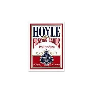 HOYLE ホイル ポーカーサイズ (レッド ・ ブルー)