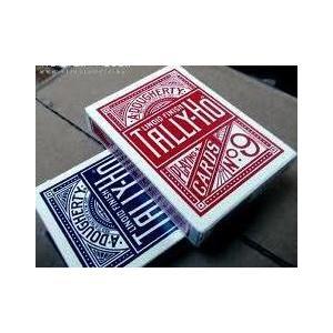 TALLY-HO タリホー サークルバック ポーカーサイズ (レッド ・ ブルー)