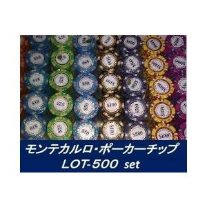 モンテカルロ・ポーカーチップ LOT-500セット|badenbaden