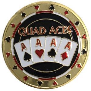 カードプロテクター「Quad Aces」 ポーカー用カードプロテクター|badenbaden