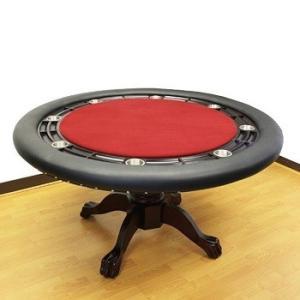 ROUND ラウンドポーカーテーブル3 -レッド(テーブルのみ) -ポーカー・マジック用|badenbaden