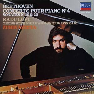 ルプー&メータのベートーヴェン/ピアノ協奏曲第4番 仏DECCA 2518
