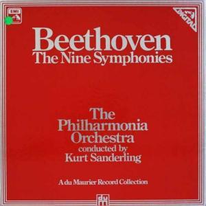ザンデルリンクのベートーヴェン/交響曲全集 独EMI 2520