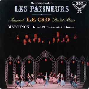 マルティノンのマスネ/「ル・シッド」ほか 英DECCA 2602 LP レコード