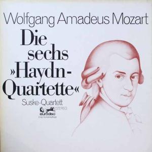 ズスケ四重奏団のモーツァルト/「ハイドンセット」 独EURODISC 2609 LP レコード
