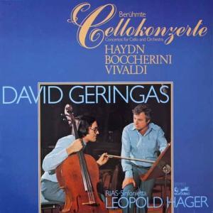 ゲリンガスのハイドン/チェロ協奏曲第1番ほか 独EURODISC 2609 LP レコード|baerenplatte