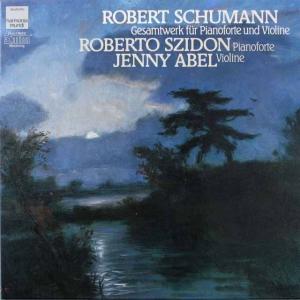 シドン&アベルのシューマン/ヴァイオリンソナタとピアノのための作品全集  独HM  2641 LP レコード