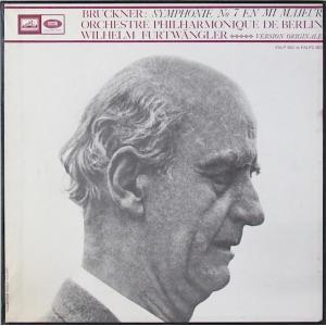 フルトヴェングラーのブルックナー/交響曲第7番 仏EMI(VSM) オリジナル盤 2818 LP レコード|baerenplatte
