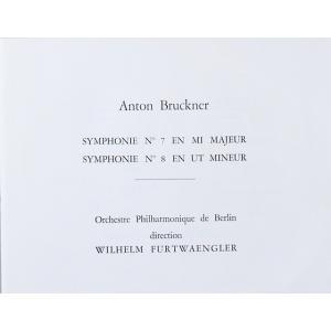 フルトヴェングラーのブルックナー/交響曲第7番 仏EMI(VSM) オリジナル盤 2818 LP レコード|baerenplatte|02