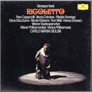 【直筆サイン入り】 ジュリーニのヴェルディ/「リゴレット」 独DGG 2844 LP レコード