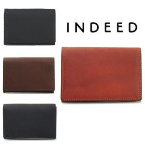 インディード INDEED/BORSA ボルサ 名刺入れ 370413|bag-danjo