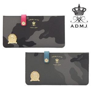 ADMJ エーディーエムジェイ / カモフラ PVC スリム 長財布 15sa06104 bag-danjo