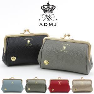 admj 財布 がま口 コインケース パース エーディーエムジェイ 本革 レディース アクセソワ 店舗 公式 acs06023|bag-danjo