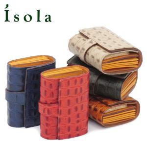 アイソラ isola / 折り財布 ジャバラ オリノコ レディース メンズ コロコロ レザー 11801|bag-danjo