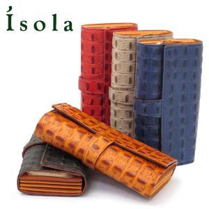 アイソラ isola / 長財布 ジャバラ オリノコ レディース メンズ レザー 11802|bag-danjo