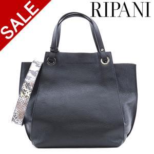 リパーニ バッグ RIPANI トートバッグ 2way 本革 レディース パイソン AIRONE 9291os|bag-danjo