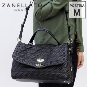 【正規品】zanellato ザネラート / ポスティーナ トートバッグ レディース 2way 本革 キルティング マトラッセ a4 横入れ6378-45 POSTINA M ZETA|bag-danjo