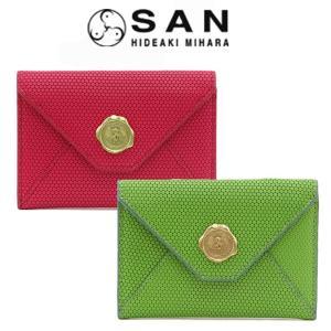 20%OFF / サンヒデアキミハラ san hideaki mihara / 財布 カードケース レディース 小銭入れ 本革 mini-cst|bag-danjo