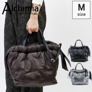 アルキミア alchimia バッグ トートバッグ レディース 2way 中綿 ダウン風 軽量 PIUMA 3540 bag-danjo
