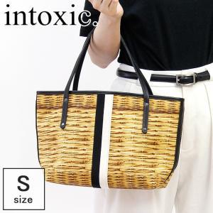 intoxic. イントキシック / トートバッグ レディース キャンバス かごバッグプリント ライン holiday tote S ub-002|bag-danjo
