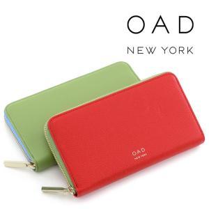30%OFF / oad new york 財布 長財布 オーエーディーニューヨーク ラウンドファスナー 本革 レディース oad058 bag-danjo