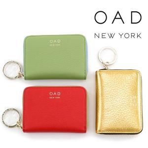 30%OFF / oad new york 財布 ミニ財布 オーエーディーニューヨーク カードケース ラウンドファスナー 本革 レディース oad060|bag-danjo