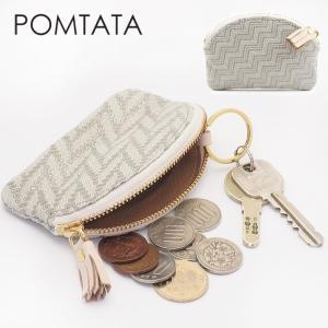 ポンタタ Pomtata / 財布 コインケース 小銭入れ キーケース 本革 レディース p1297|bag-danjo