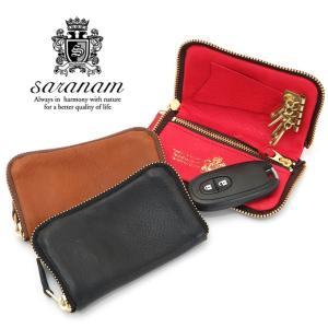 サラナン saranam / キーケース コインケース 本革 mg99314|bag-danjo