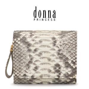 donna PRINCESS ドンナ プリンセス / 二つ折り財布 ヘビ革 レディース 0091100|bag-danjo