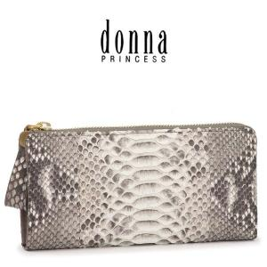 donna PRINCESS ドンナ プリンセス / 長財布 ヘビ革 L字ファスナー レディース 0091102|bag-danjo