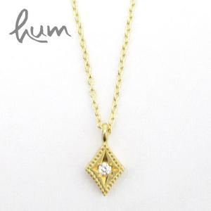 HUM ハム / ダイヤモンド ネックレス halo n8201|bag-danjo
