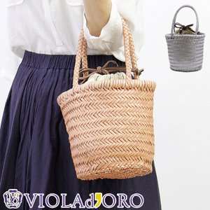 40%OFF / VIOLAd'ORO レザー メッシュ メッシュバッグ トート 内袋付き elio エリオ レディース 店舗 公式 v-7013|bag-danjo