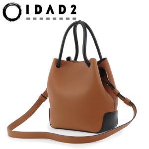 IDAD2 バッグ トートバッグ 巾着型 本革 2way ブラック 黒 ゴールド ブラウン イダッド レディース El Todo エル トド イダッド m12 bag-danjo