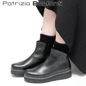 Patrizia Bonfanti ブーツ ショートブーツ パトリチィアボンファンティ レディース レザー 厚底 yaya|bag-danjo