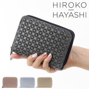 ヒロコ ハヤシ 財布 hiroko hayashi 二つ折り財布 ラウンドファスナー レディース 本革 GIRASOLE ジラソーレ 709-11646|bag-danjo